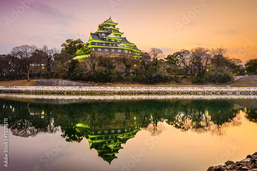 Foto op Plexiglas Japan Okayama Castle in Okayama, Japan