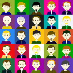 25 men. Raster. 4  4 4