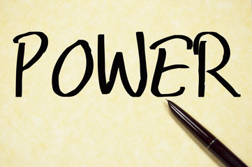 power word write on paper