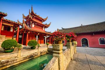 Yongquan Temple in Fuzhou, China