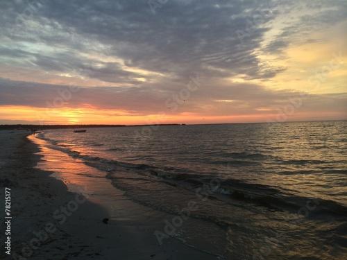canvas print picture Sonnenuntergang