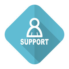 support flat icon