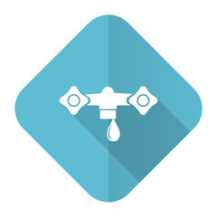 water flat icon hydraulics sign