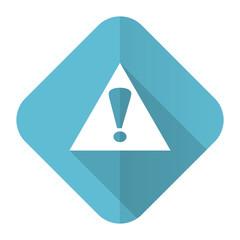 exclamation sign flat icon warning sign alert symbol