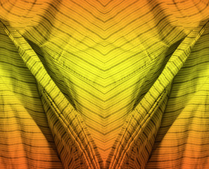 yellow and orange abstract pattern