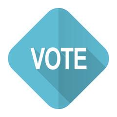 vote flat icon