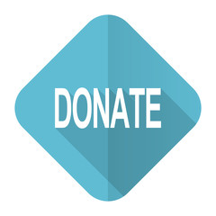 donate flat icon