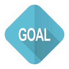 goal flat icon