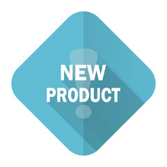 new product flat icon