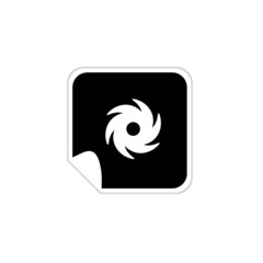 wind icon vector illustration