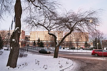 Inverno a Solna