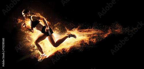 Zdjęcia na płótnie, fototapety, obrazy : Sport.Runner