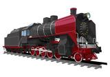 old steam locomotive - 78219518