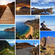 Obrazy na płótnie, fototapety, zdjęcia, fotoobrazy drukowane : Tenerife Views Collage