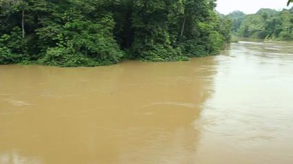 Rio Tiputini in the Ecuadorian Amazon