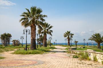Греция. Халкидики. Набережная полуострова Кассандра