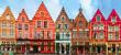 Christmas Grote Markt square of Brugge, Belgium. - 78223908