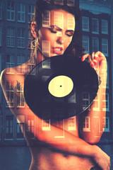 Sexy girl DJ