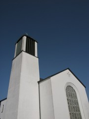 Die katholische Kirche St. Michael in Oerlinghausen bei Detmold