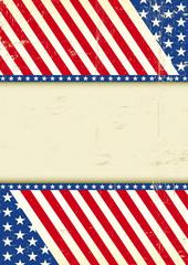 Dirty USA cool flag