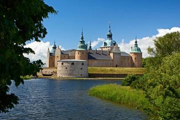 Old castle in Kalmar, Sweden
