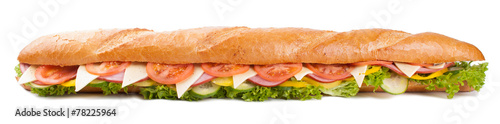 Big french sandwich - 78225964