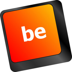be word on keyboard key, notebook computer button