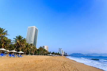 Nha Trang City Beach, Early Morning