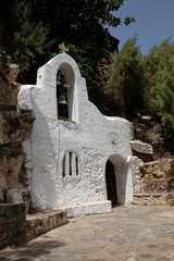 Church Agios Nikolaos Crete island in Greece