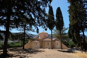 Byzantine Church Panagia Kera in Kritsa
