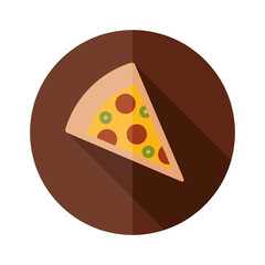 pizza flat icon