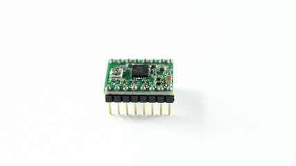 stepping motor driver board, rotation about an axis