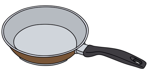 Hand drawing of a pan