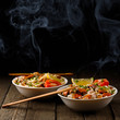 Noodles with seafood - 78228529