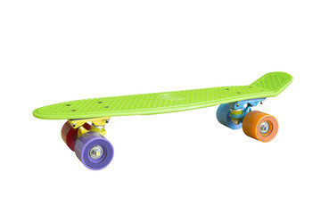 skateboard isolated on a white background