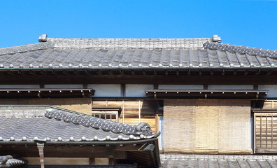 Close - up Detail of Japanese old style house