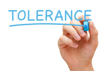 Tolerance Blue Marker