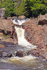 Water Chute on a Wilderness River