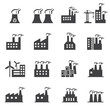 Industrial building icon - 78230921