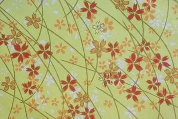 花柄の千代紙