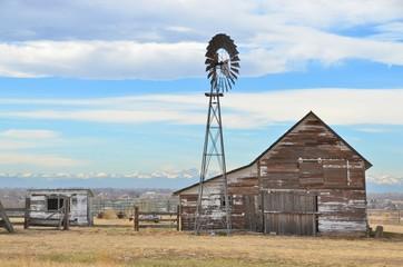 Old Western Barn