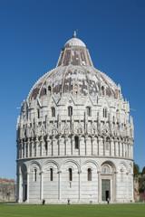Baptistery of St. John in the Piazza dei Miracoli, Pisa, Tuscany