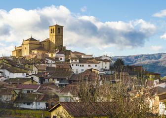 Hervas. Medieval village in Extremadura, Spain