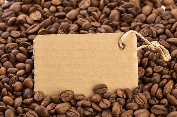 coffee bans and blank