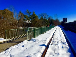 Eisenbahnbrücke über Loisach