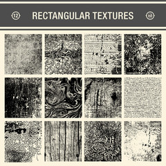 set of 12 detailed backgrounds