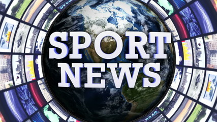 SPORT NEWS, Earth and Monitors Tunnel, Loop