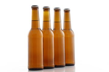 Alignement bouteilles verre