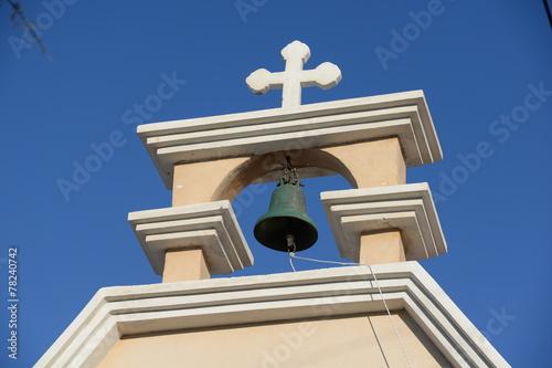 canvas print picture Kirche in Mochlos, Kreta