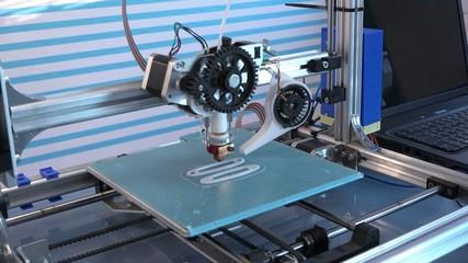 working 3d printer